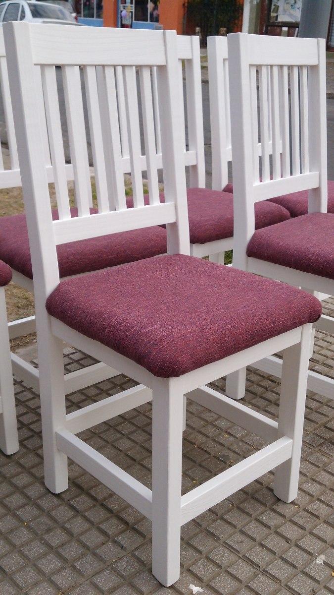 Best sillas de comedor tapizadas modernas images casas for Sillas tapizadas modernas