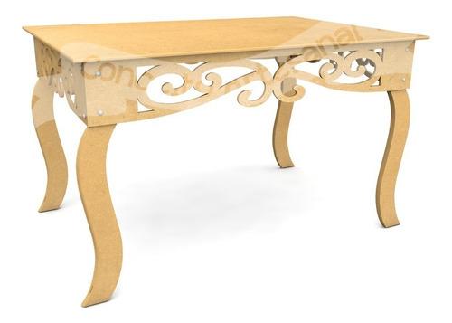 mesa auxiliar aparadora luis xv prince 87cm decoração festa