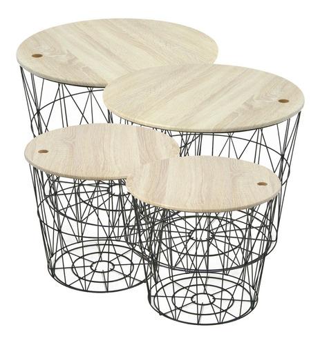 mesa auxiliar chica gates madera vonn
