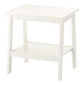 Mesa Auxiliar Color Blanco Ikea Lunnarp 42396
