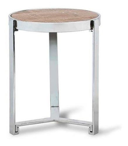 mesa auxiliar cromo