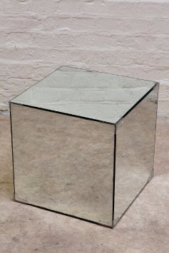 Mesa auxiliar cubo de espejos en mercado libre - Espejos de mesa baratos ...