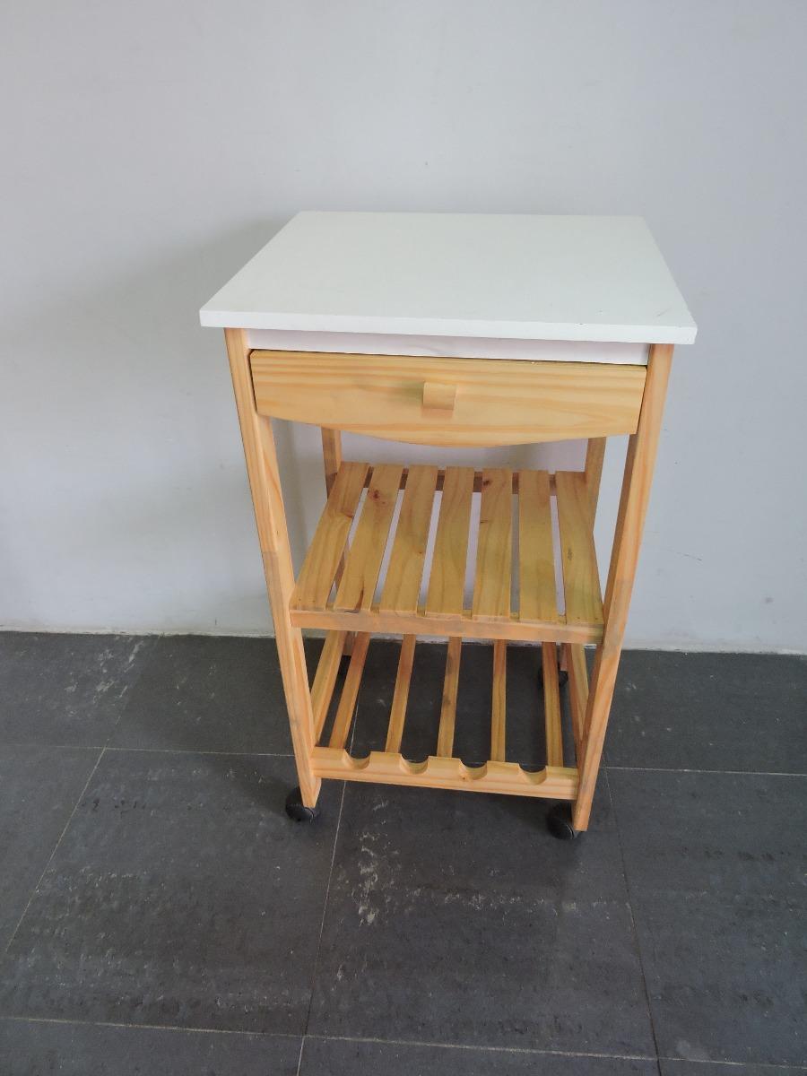Mesa auxiliar de cocina en mercado libre for Mesa auxiliar de cocina