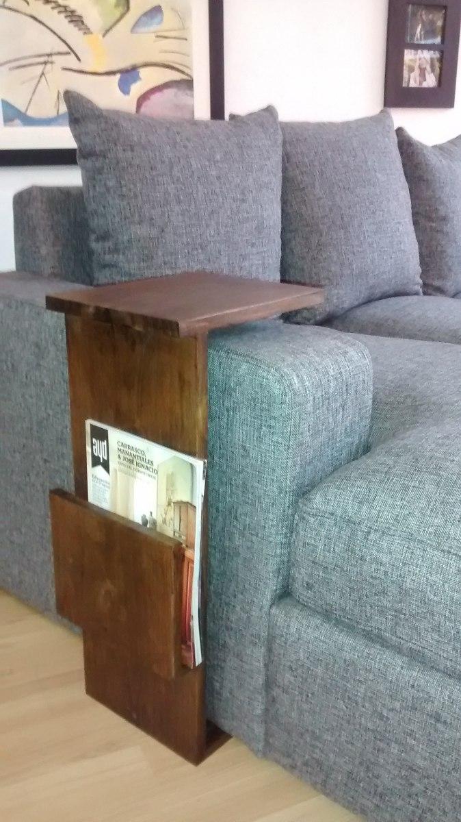 Mesa auxiliar lateral para sof madera maciza - Mesa auxiliar sofa ...