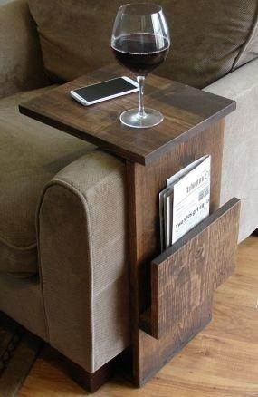 Mesa auxiliar para sofa en madera en - Mesa auxiliar para sofa ...