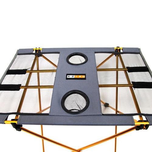 mesa azteq cosmo compacta leve fácil montagem