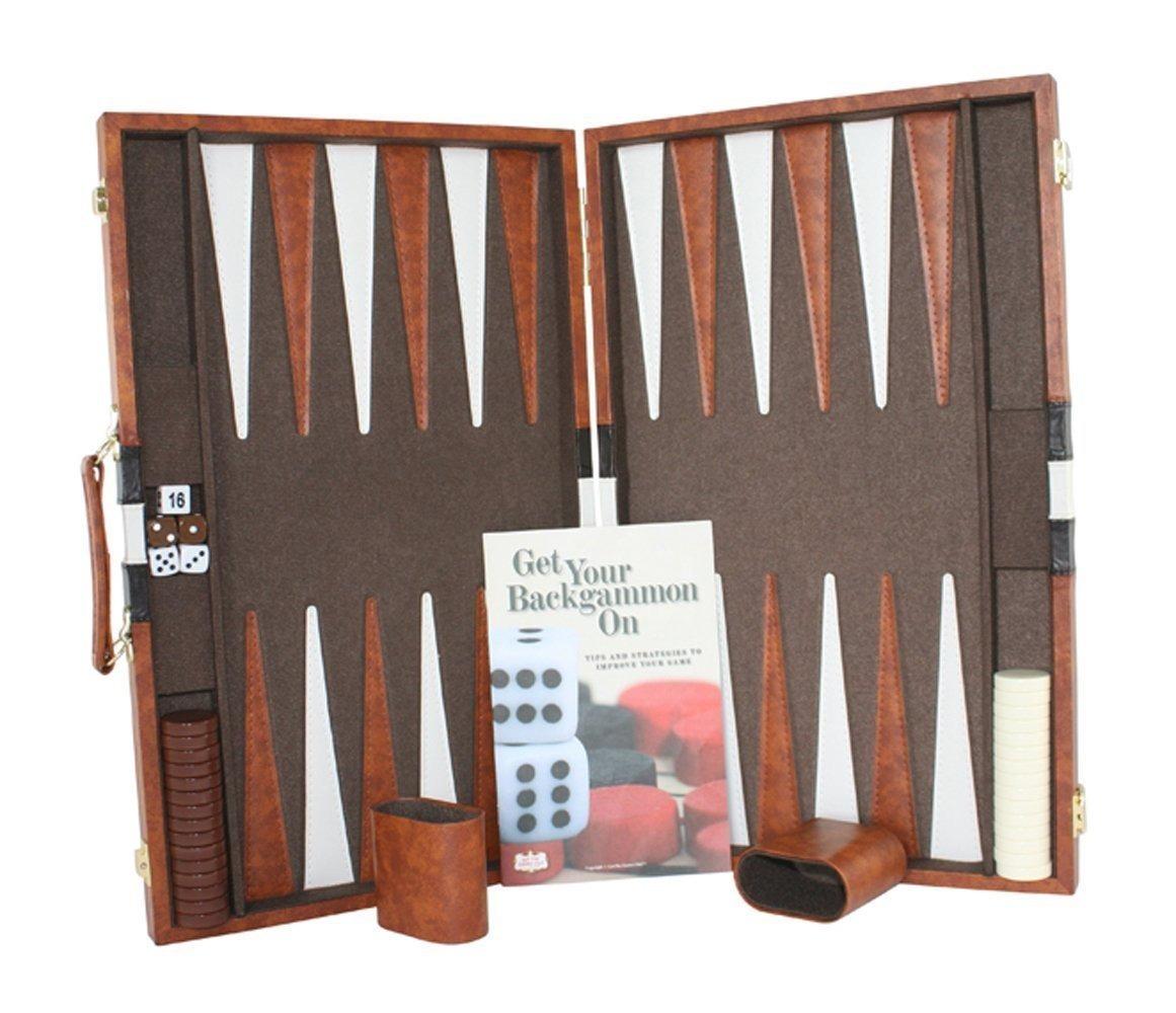 Juego De Mesa De Backgammon Con Estuche Disponible En Taman