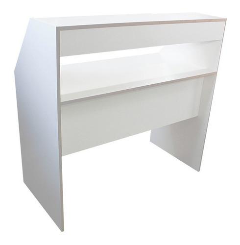 mesa bancada de assistencia técnica eletronica em mdf branco