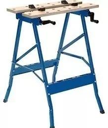 mesa banco de trabajo plegable prensa porta herramientas