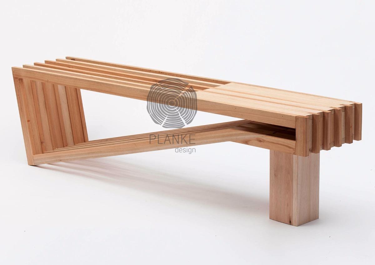 Mesa / Banco - Madera Maciza - Muebles De Diseño - $ 14.900,00 en ...