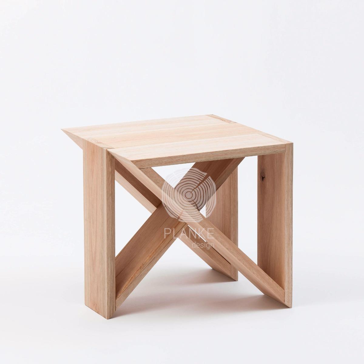 Mesa / Banco Modular - Madera Maciza - Muebles De Diseño - $ 4.900 ...