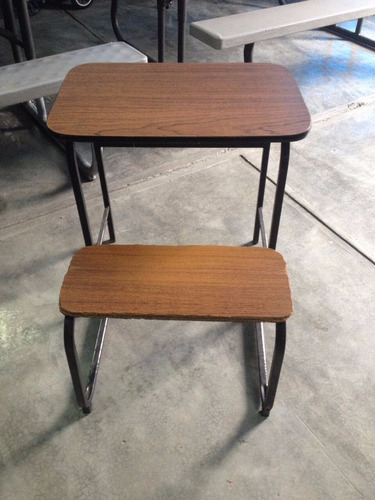 mesa banco para niños