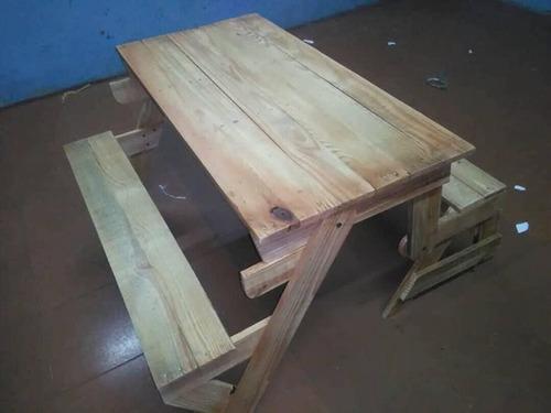 mesa banco plegable somos fabricantes