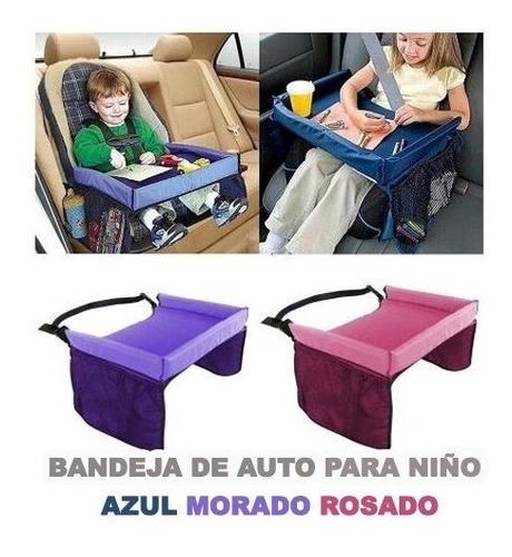 mesa bandeja de niños viajes silla de automovil didactico