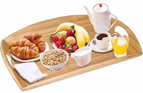 Mesa bandeja desayuno cama con asas envio gratis en mercado libre - Bandeja desayuno cama ...