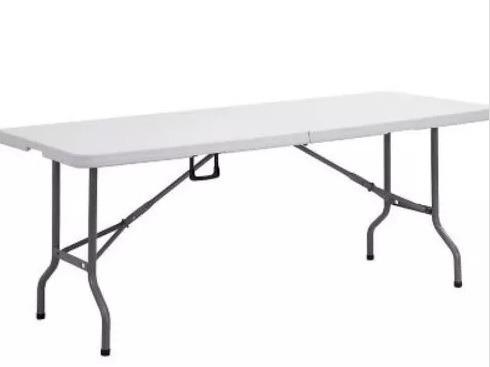 mesa banquetera plegable alta calidad 180x74x75