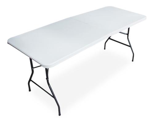 mesa banquetera plegable eventos jardin 180*61*74