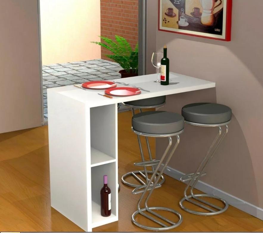 Mesa barra comedor para desayunos modernas bs for Barra de comedor