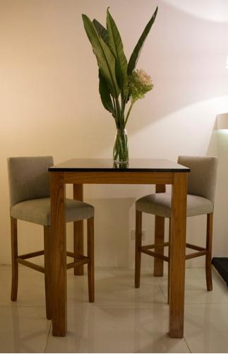 mesa barra con tapa  mármol marquina