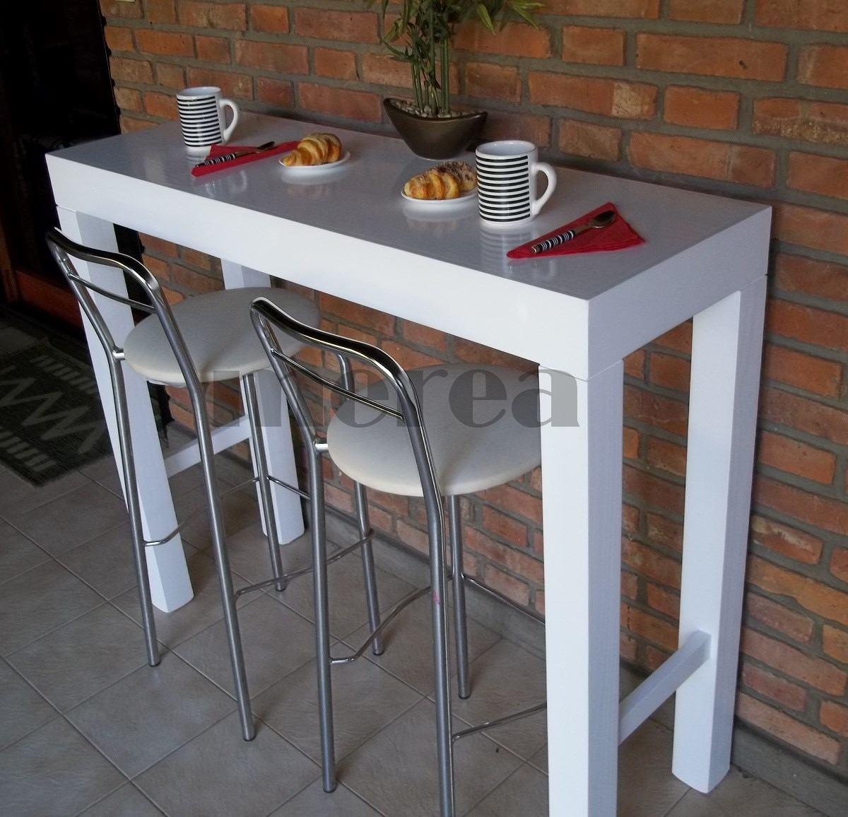 Mesa Barra Desayunador - Mesa De Arrime - Recibidor - $ 3.590,00 en ...