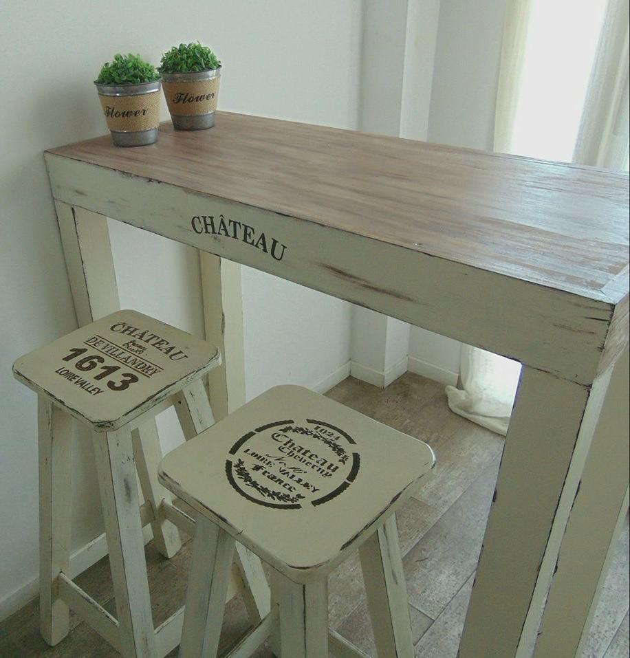 Mesas de cocina madera rustica trendy muestra de comida - Mesas de cocina rusticas ...