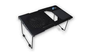mesa + base con turbina para notebook noganet ng-t8