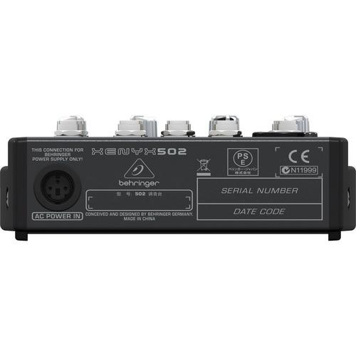 mesa behringer xenyx 502 mixer xenyx502 110volts