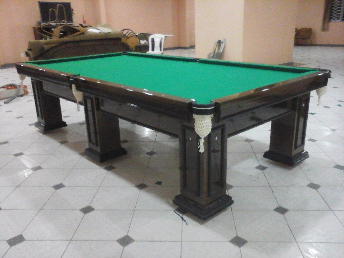 mesa bilhar sinuca e jantar snooker profissional cores