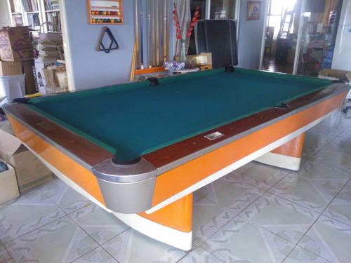 Mesa billar pool dise o exclusivo profesional 45 en mercado libre - Medidas mesa billar profesional ...