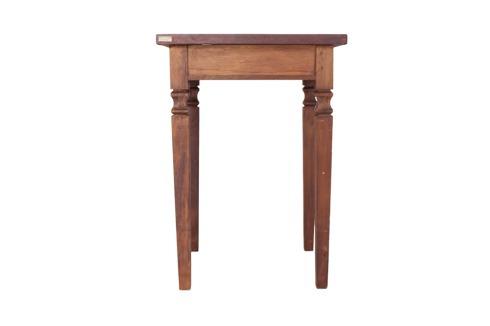 mesa bistro quadrada madeira demolição 4 lugares c/ cadeiras