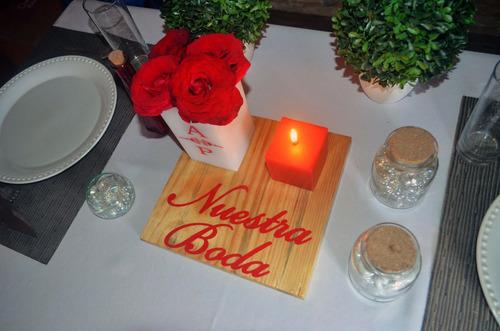 mesa boda centro