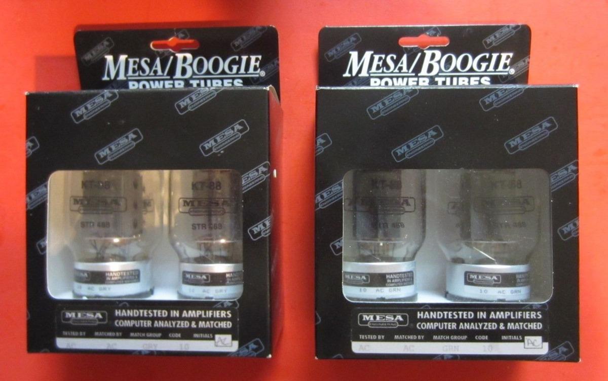 Mesa Boogie Kt88 Power Tubes Nuevo En Caja Quad - Dos Pares