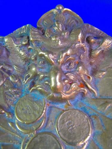 mesa bronce centro