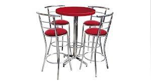 mesa c/4 sillas para restaurante,bar,cafeteria,antro,cocina