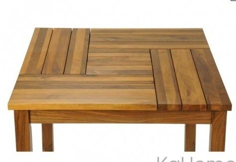 Mesa cairo madera para restaurantes cafeter as pizzer as for Mesa de camping de madera