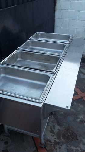 mesa caliente vaporera