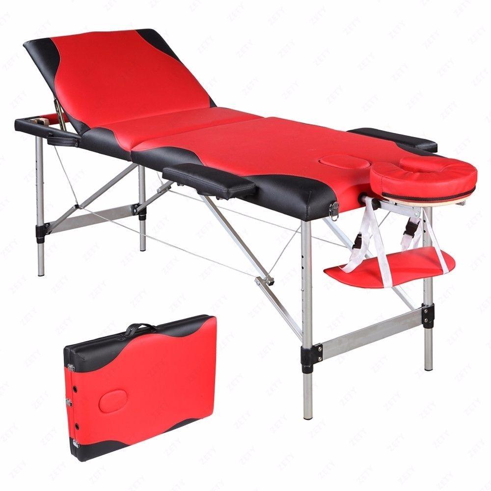 Mesa camilla de masaje port til aluminio cama estuche spa - Mesa portatil cama carrefour ...