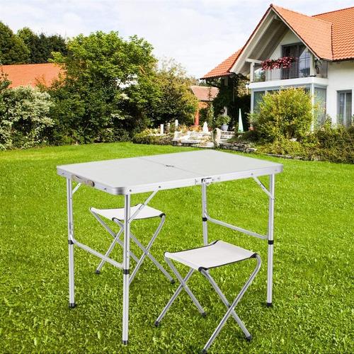 mesa camping cadeira