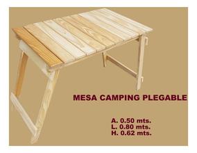 Con Patas Madera De Camping Plegable Rebatibles Mesa gY6yfvb7