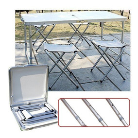 Sillas Camping Plegable Mesa Simple 120x60cm4 vmN80wnO