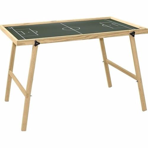 mesa campo de futebol botão 1,00cm x 70cm com pés