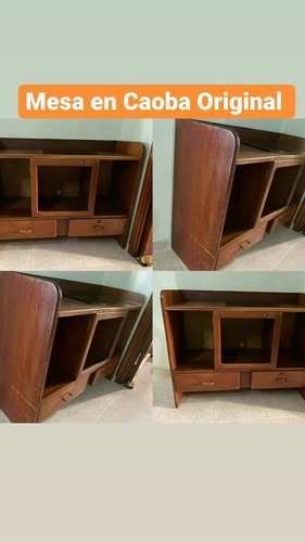 mesa caoba original