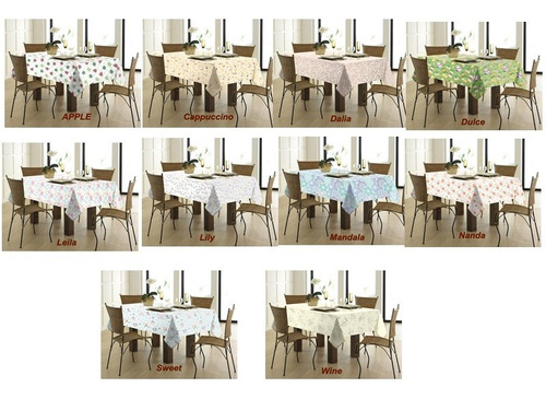mesa casa toalha