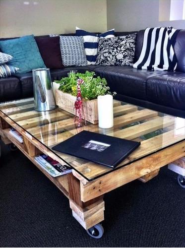 mesa centro madera mesa