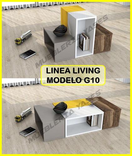 mesa centro modern juego mueble sala comedor sofa recibo g10