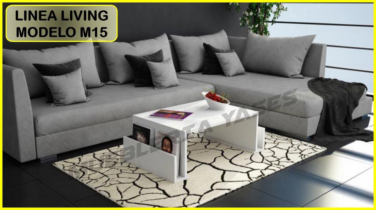 Mesa Centro Modern Juego Mueble Sala Comedor Sofa Recibo M15 - Bs ...