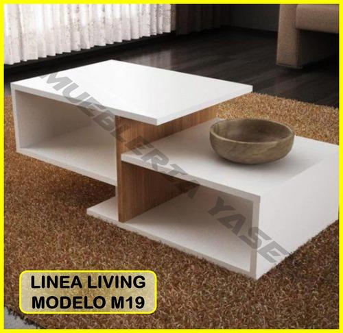 mesa centro modern juego mueble sala comedor sofa recibo m19