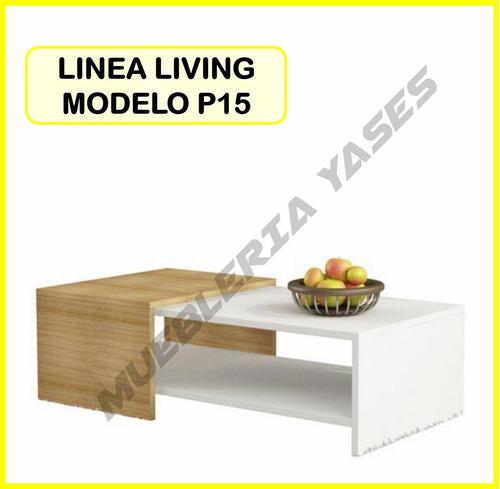 mesa centro modern juego mueble sala comedor sofa recibo p15