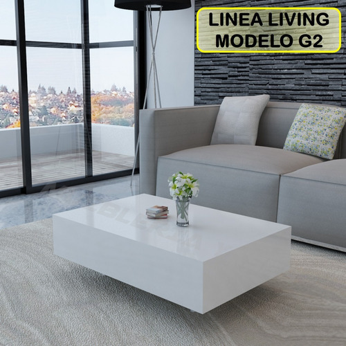 mesa centro moderna juego mueble sala comedor sofa recibo g2