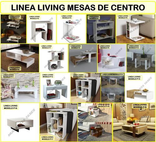 mesa centro moderna juego mueble sala comedor sofa recibo p4